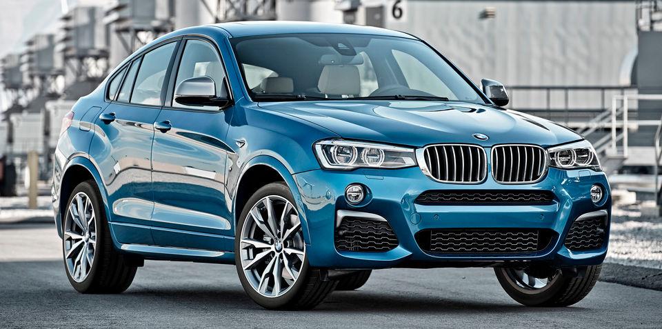 BMW X4 M40i revealed