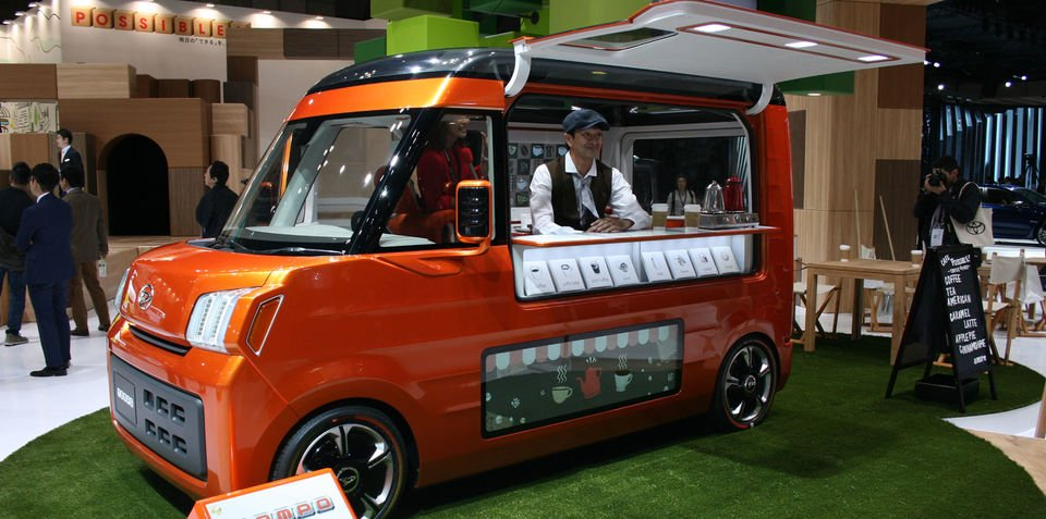 Daihatsu Tempo mobile shop concept unveiled