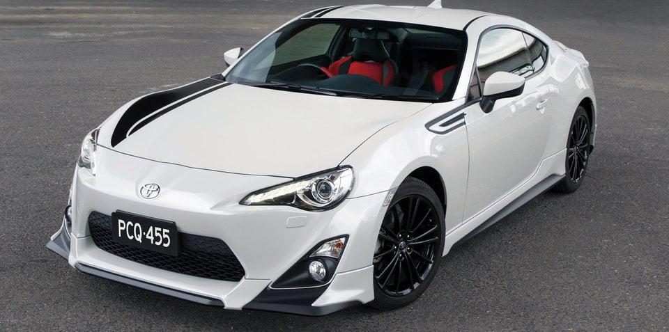 Toyota 86 Blackline on sale in Australia: $37,990 TRD special celebrates 86 Racing Series