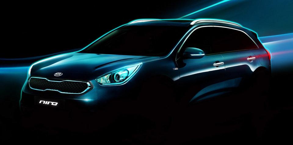 Kia Niro hybrid SUV teased ahead of February debut - UPDATE