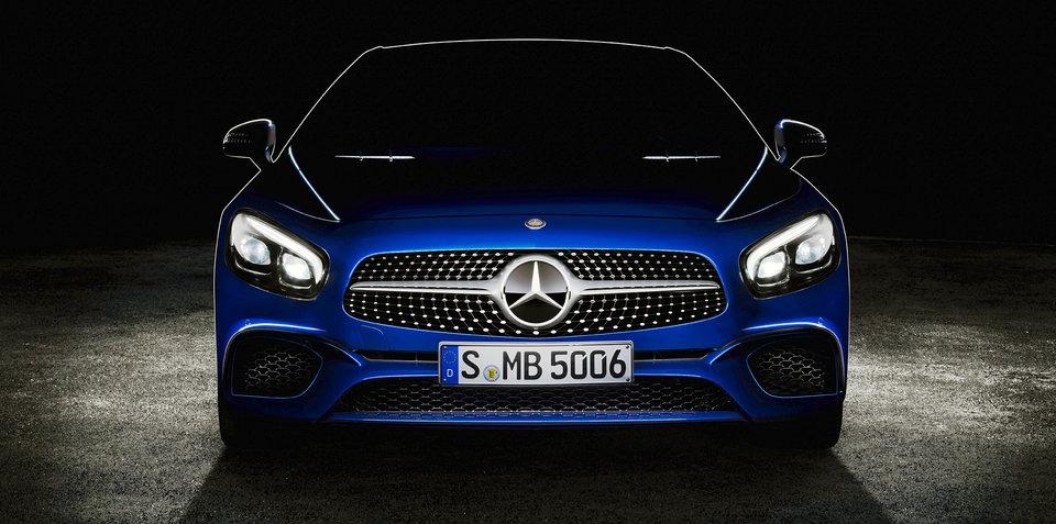 2016 Mercedes-Benz SL roadster teased ahead of LA debut