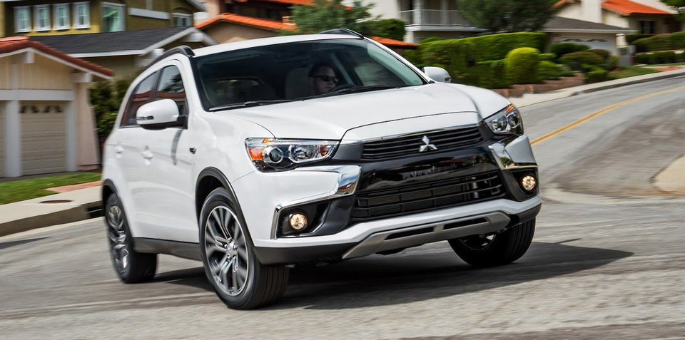 2016 Mitsubishi Asx Mirage Facelifts Revealed Mirage Here Next
