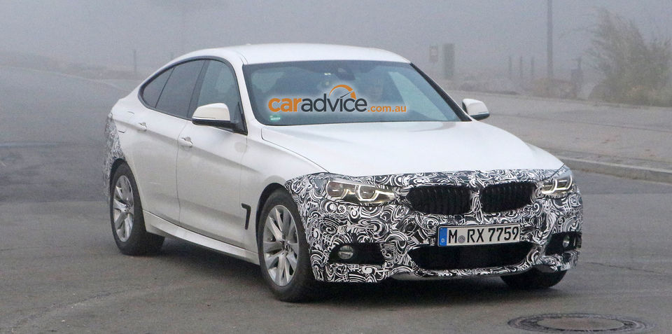 2016 BMW 3 Series GT facelift spy photos