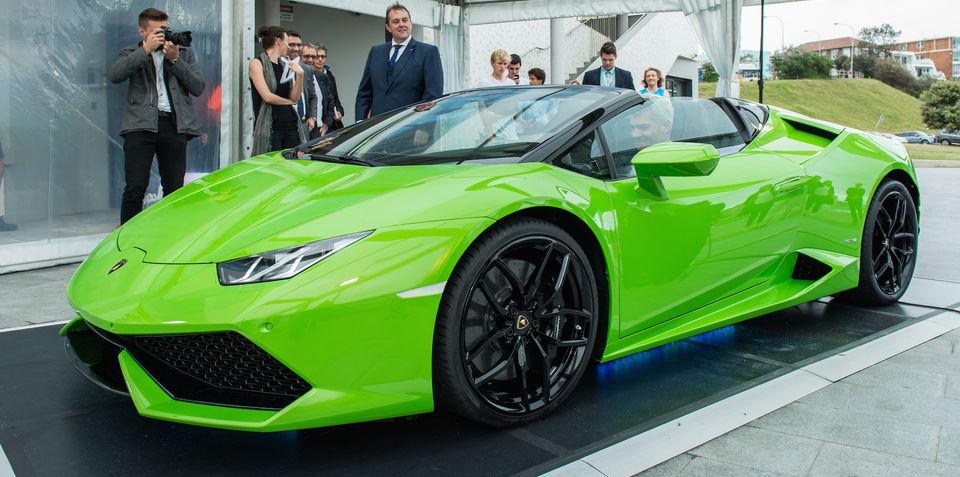 Lamborghini Huracan LP610-4 Spyder debuts in Australia