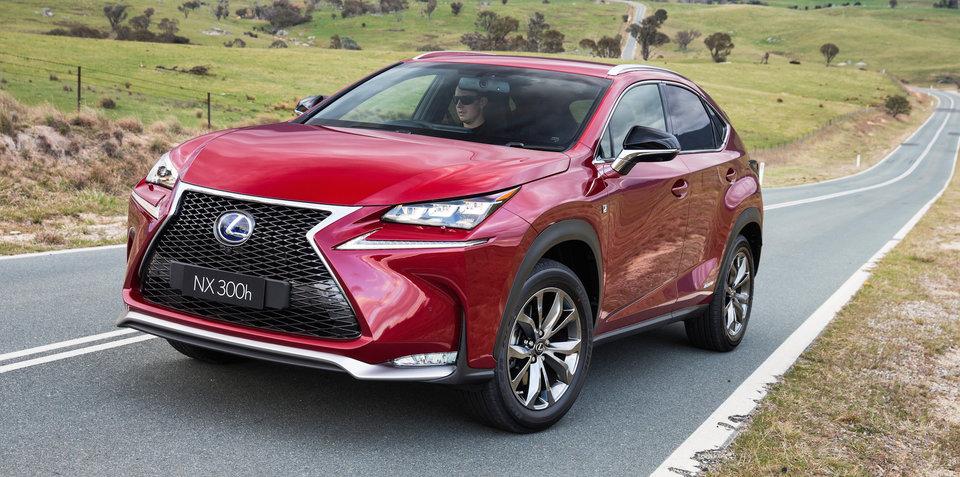 2015 Lexus NX, RX recalled