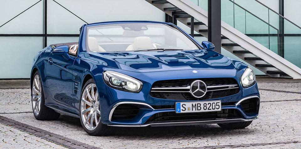 2016 Mercedes-Benz SL facelift leaked online