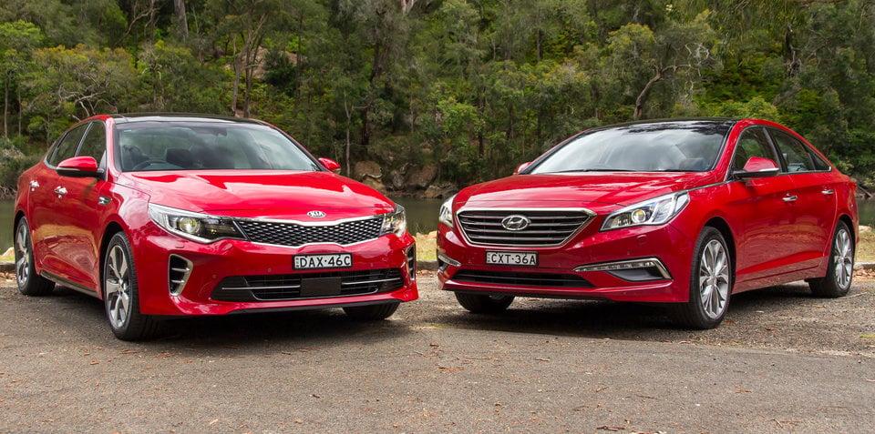 Kia Optima GT v Hyundai Sonata Premium : Comparison Review