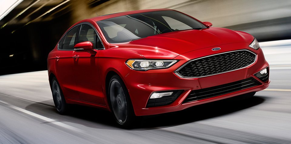 2016 Ford Fusion/Mondeo unveiled:: twin-turbo V6 headlines changes