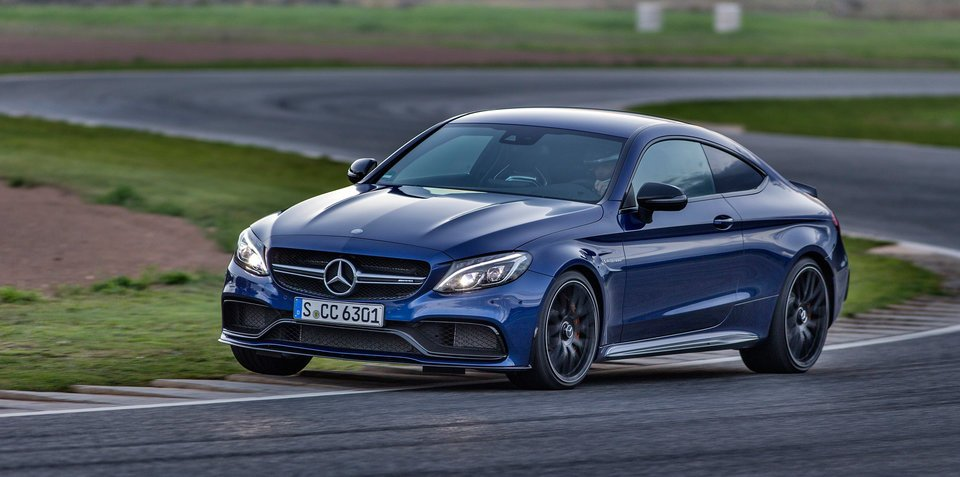 Mercedes-AMG C63 S coupe pricing and specifications