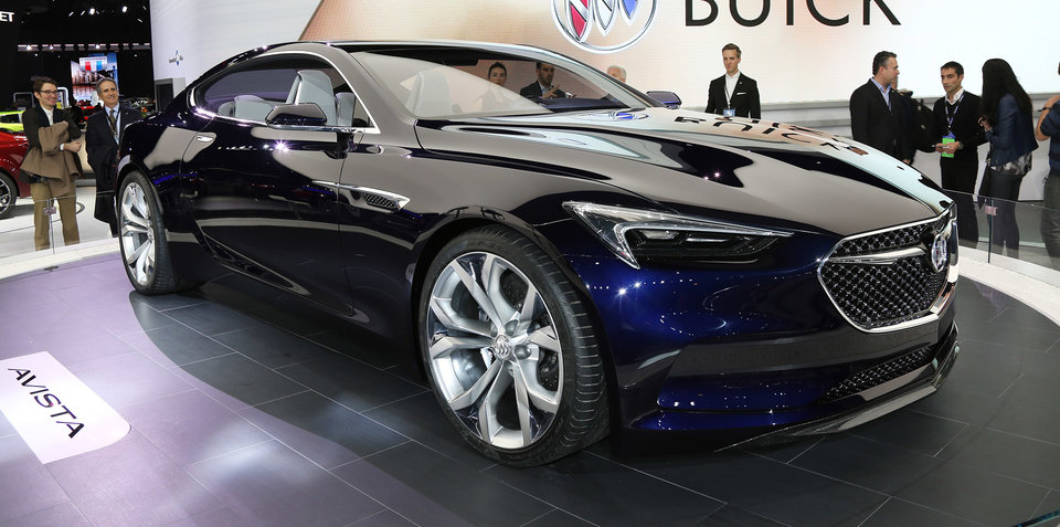 Buick Avista concept could preview new Holden Monaro