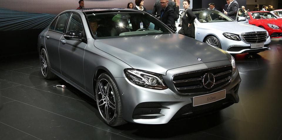 2016 Mercedes-Benz E-Class:: Australian launch line-up confirmed
