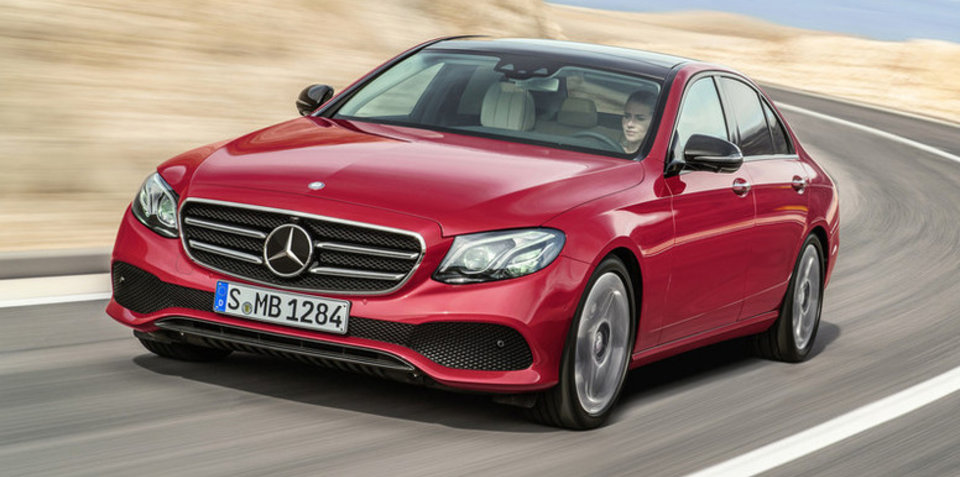 2016 Mercedes-Benz E-Class revealed in leaked images