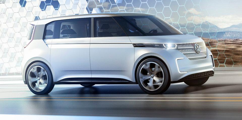 Volkswagen Budd-e EV concept revealed at CES