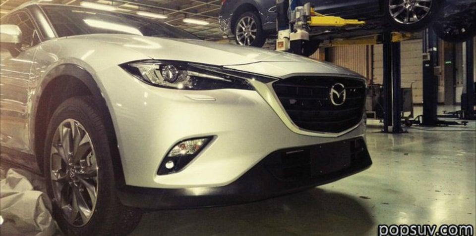 2017 Mazda CX-4/CX-6 Koeru crossover spied