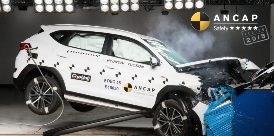 Hyundai Tucson:: five-star ANCAP safety rating follows redesign