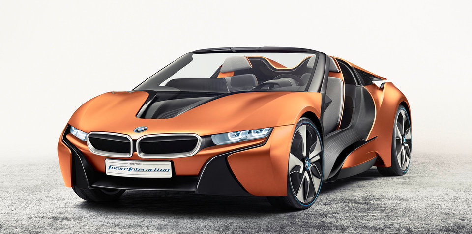 BMW i Vision Future Interaction concept unveiled