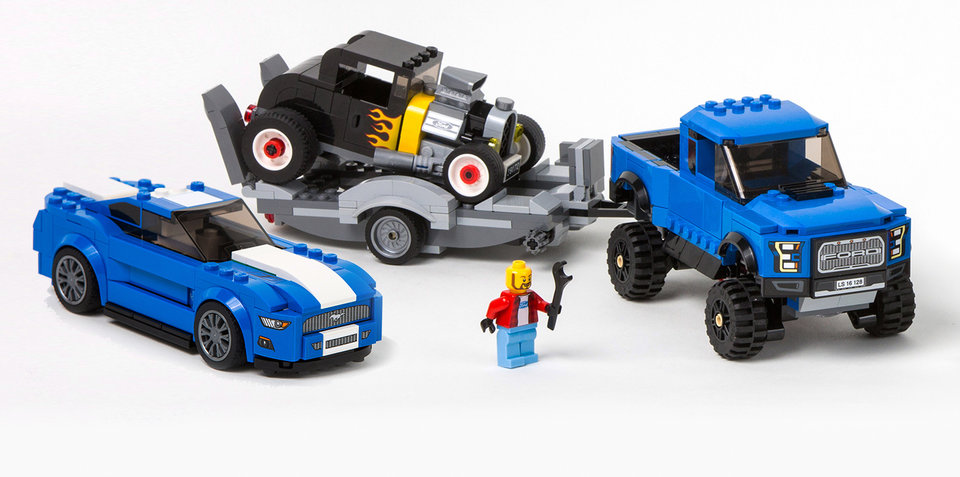 ford mustang and raptor to join lego speed champions lineup. Black Bedroom Furniture Sets. Home Design Ideas