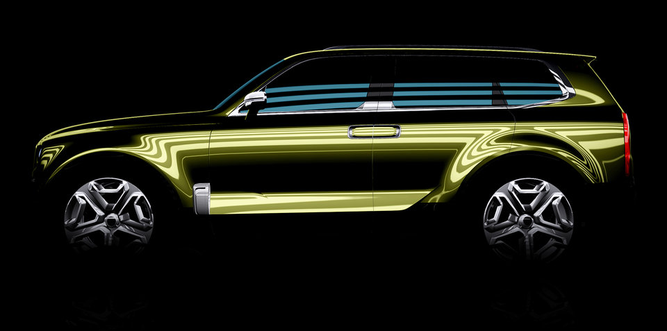 Kia KCD12 Concept:: new Mohave SUV, or K900 companion?