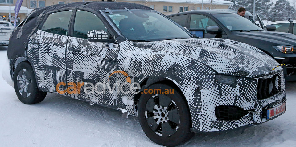 Maserati Levante interior revealed in new spy photos