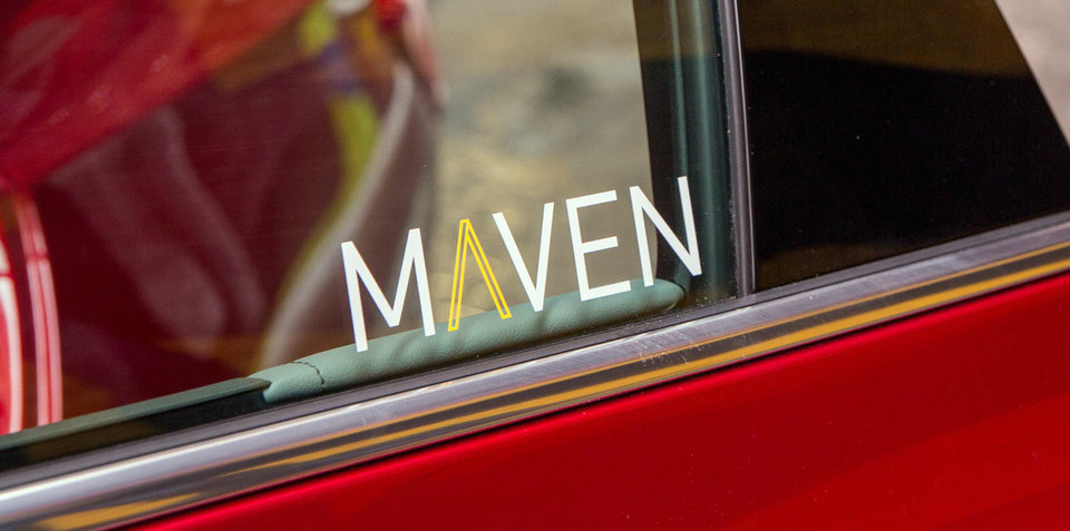 GM launches Maven car sharing service in the US