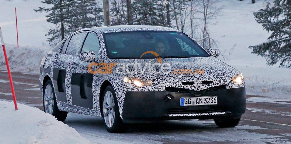 Opel Insignia/2018 Holden Commodore winter testing spy photos