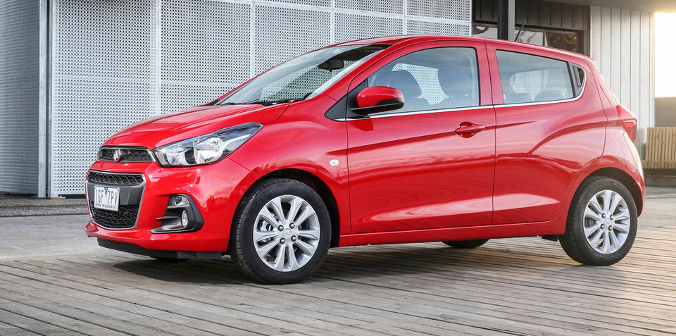 2016 Holden Spark pricing and specifications: $13,990 hatch lands in April