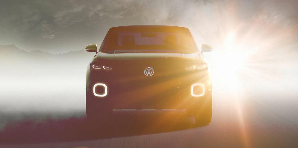 Volkswagen SUV concept teased ahead of Geneva