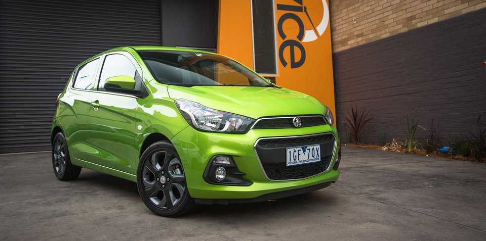 2016 Holden Spark Review