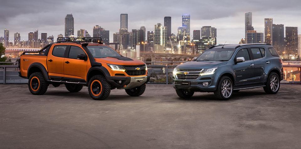 2017 Holden Colorado facelift draws near: Bangkok show cars point to new look
