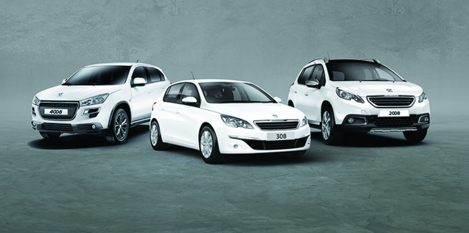 Peugeot Australia discounts 308, 2008 and 4008 for March