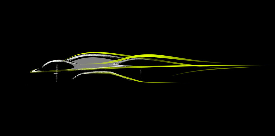 Aston Martin AM-RB 001 Hypercar to be built with Red Bull Racing Formula One team