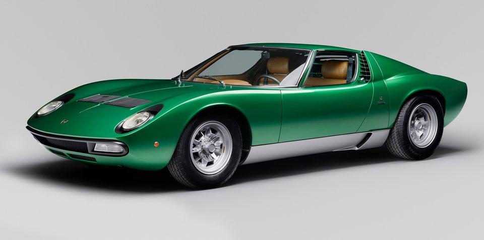 Lamborghini Miura SV 50th anniversary restoration revealed for Florida show