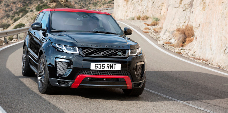 2016 Range Rover Evoque Ember coming to Australia, bigger screen joins range