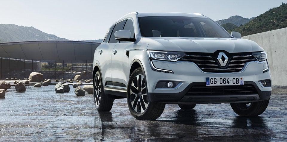 2017 Renault Koleos shows its face, spy shots reveal more