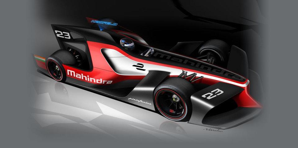 Mahindra reveals Pininfarina-designed Formula E concepts