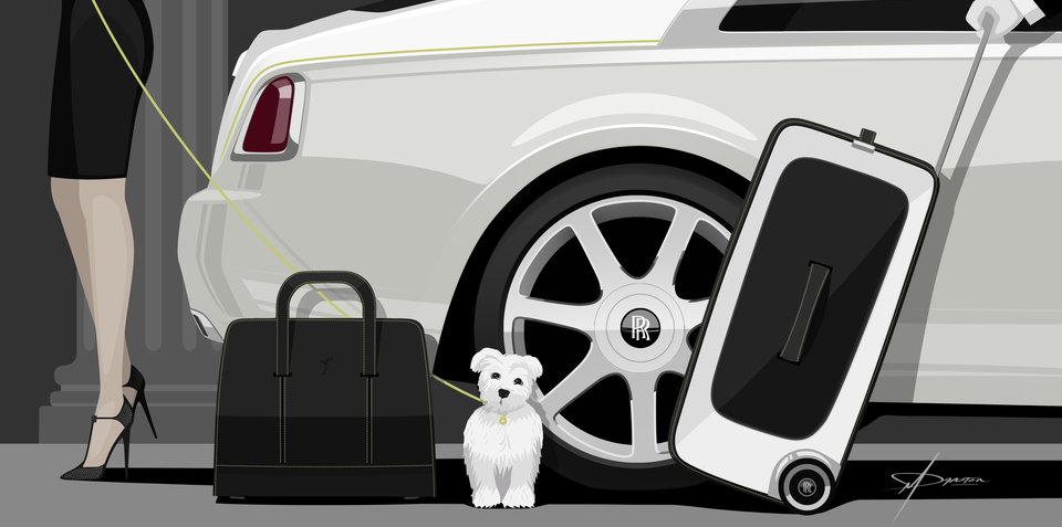 Rolls-Royce Wraith gets $50,000 bespoke luggage set
