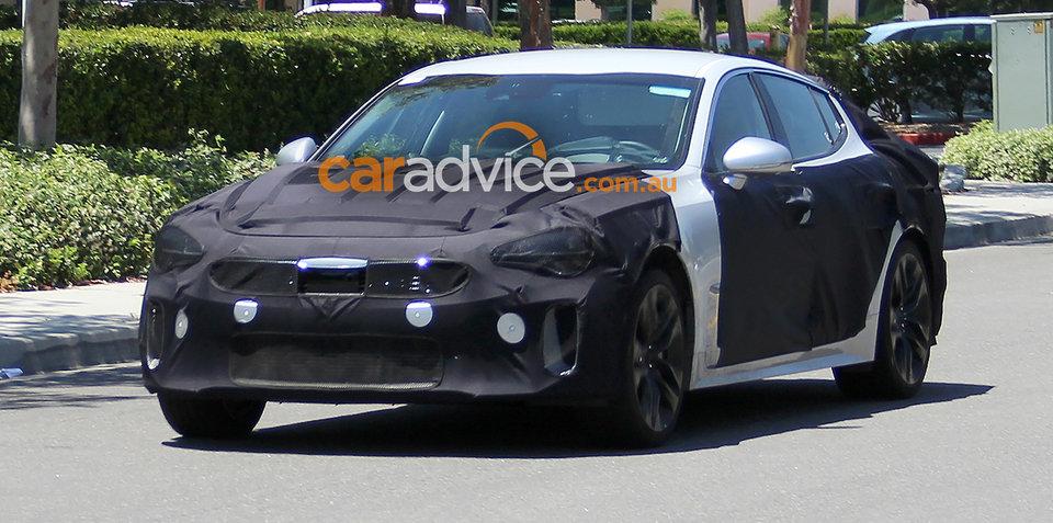 Kia GT sports sedan expected on sale in Australia by late 2017