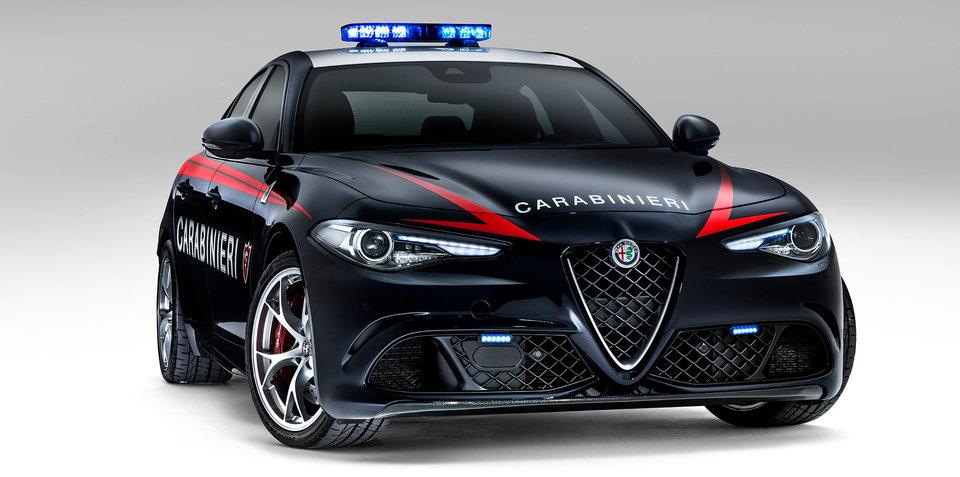 2016 Alfa Romeo Giulia Quadrifoglio joins Carabinieri fleet