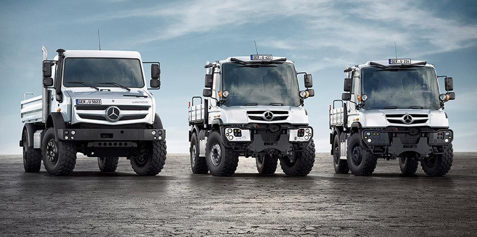 Mercedes-Benz Unimog truck recalled for electrics fix