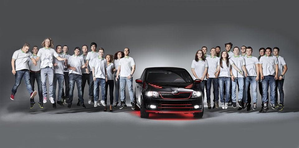 Skoda Atero:: apprentices unveil 'dream coupe' project
