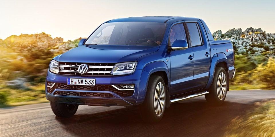 2017 Volkswagen Amarok reveals new-look interior