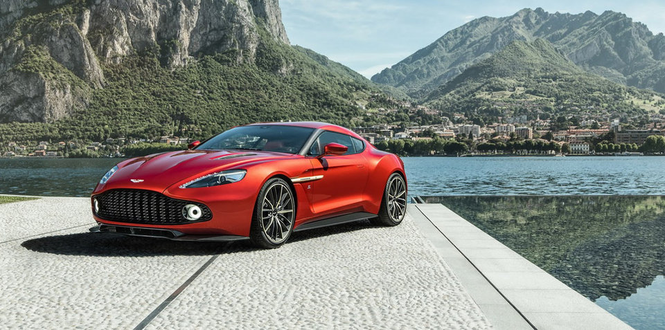 2016 Aston Martin Vanquish Zagato Coupe: production version revealed - UPDATE