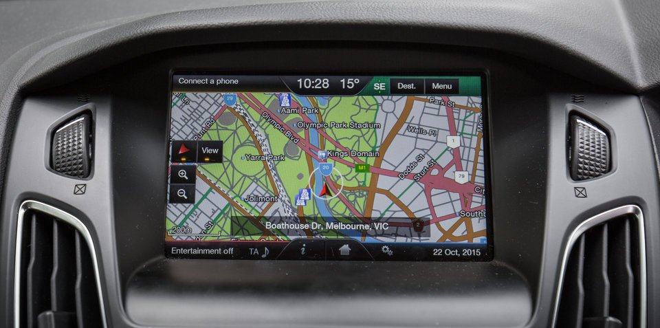 Ford Australia offering free map updates