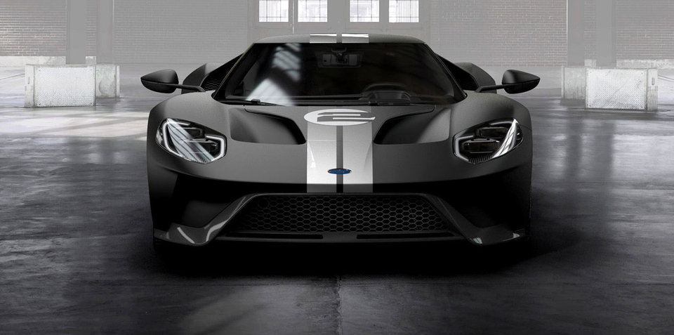 2017 Ford GT '66 Heritage Edition revealed