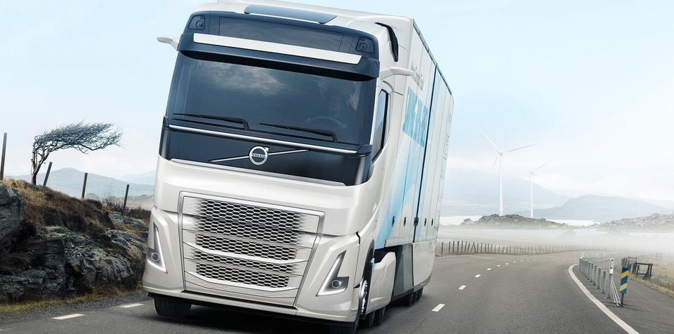 Volvo Trucks concept claims 30 per-cent fuel saving