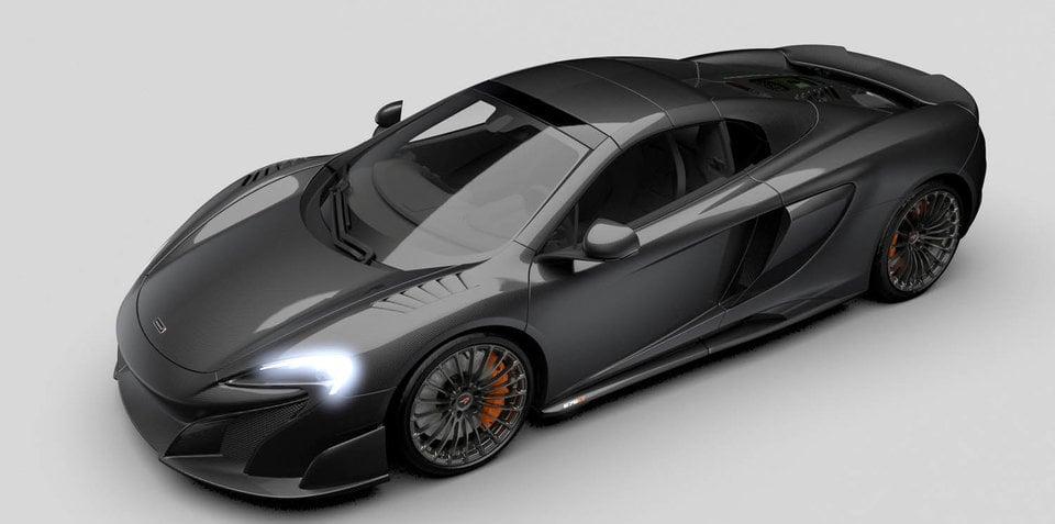 McLaren 675LT Spider gets Special Operations treatment with carbon-fibre overhaul