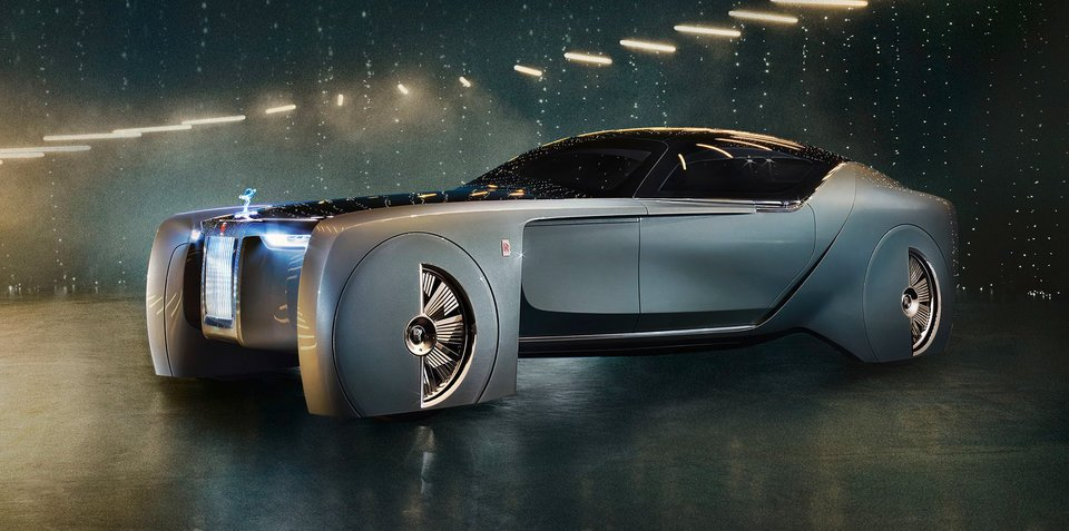 Rolls-Royce Vision Next 100 concept unveiled
