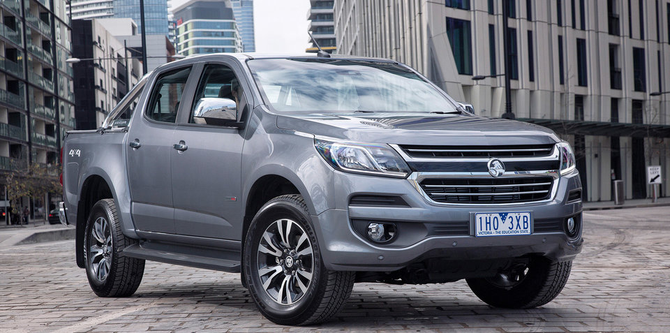 2017 Holden Colorado pricing and specifications
