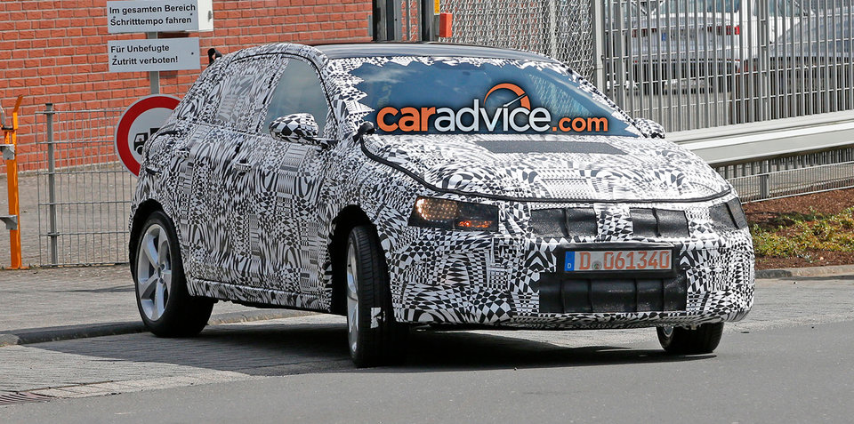 2017/2018 Volkswagen Polo, Polo GTI spied at the Nurburgring