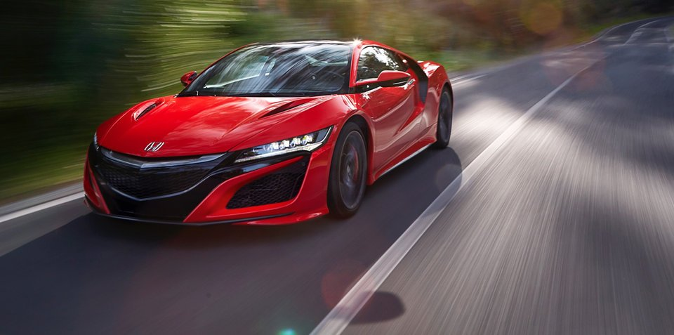 2017 Honda NSX price confirmed at $420,000